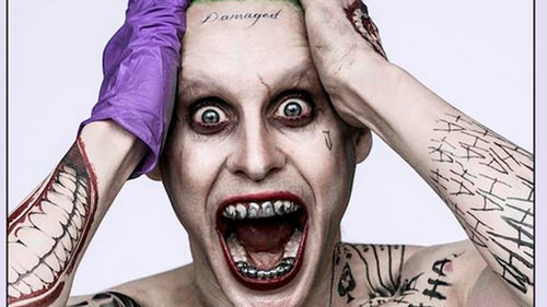 Jared Leto's Joker is Out of His Mind in This Crazy Closeup